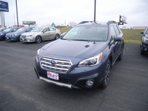 2017 subaru outback limited for sale dubuque ia 2 5l 4 cyls cylinder gray www. Black Bedroom Furniture Sets. Home Design Ideas
