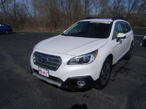 2017 subaru outback limited for sale dubuque ia 2 5l 4 cyls cylinder white www. Black Bedroom Furniture Sets. Home Design Ideas